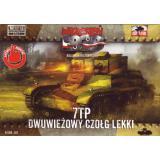 Польский легкий танк 7TP с двойной башней 1:72