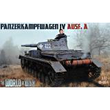 Немецкий танк Panzerkampfwagen IV Ausf.A 1:72