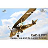 Учебно-тренировочный самолет RWD-8 PWS (венгерская и румынская служба) 1:72