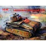 Немецкий легкий танк Leichttraktor Rheinmetall 1930 года (100% новые модели) 1:35