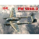 Немецкий самолет-разведчик Fw. 189A-2 1:72