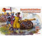 Испанская полевая артиллерия, XVII век 1:72