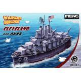 Пассажирский корабль WARSHIP BUILDER Cleveland (Мультяшна модель)