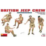 Британский экипаж джипа 1:35