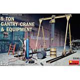 Портальный (козловой) кран 5-тонн со снаряжением 1:35