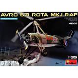 Разведывательный автожир avro 671 rota mk.1 raf 1:35