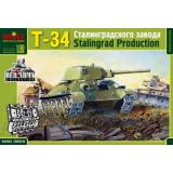 Т-34 производства Сталинградского Тракторного Завода
