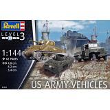 Военная техника, 2 МВ (6 моделей в наборе) 1:144