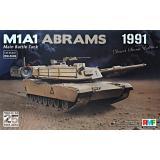Американский танк M1A1 Abrams, война в персидском заливе, 1991-2016 г. 1:35