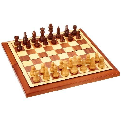 Шахматы Belgrad, клетка 40 мм, 40х20х5,5 см. (Philos 2613) Германия