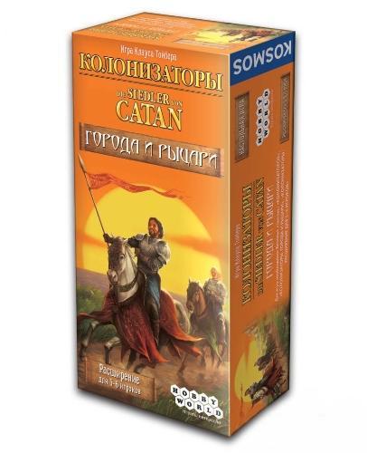Колонизаторы Города и рыцари Расширение для 5-6 игроков