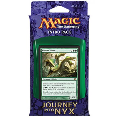 MTG: Journey into Nyx Intro Pack - The Wilds and the Deep