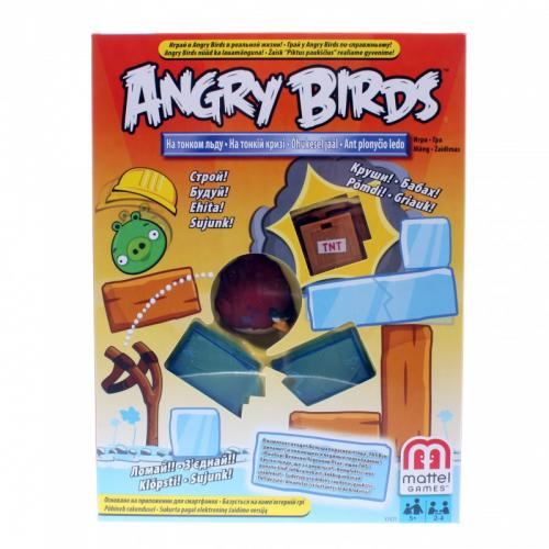 Angry Birds На тонком льду