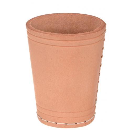 Кожаный стакан для кубиков (Philos Германия)
