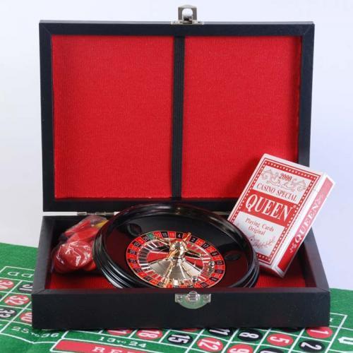 Покерный набор с рулеткой (арт REL05001)