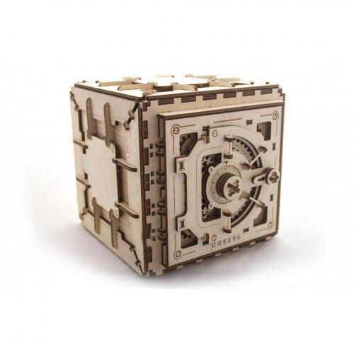Трехмерная механическая головоломка-конструктор «Сейф» (UG-012)