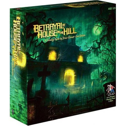 Betrayal at House on the Hill. 2nd Ed (англ.) (Предательство в доме на холме)