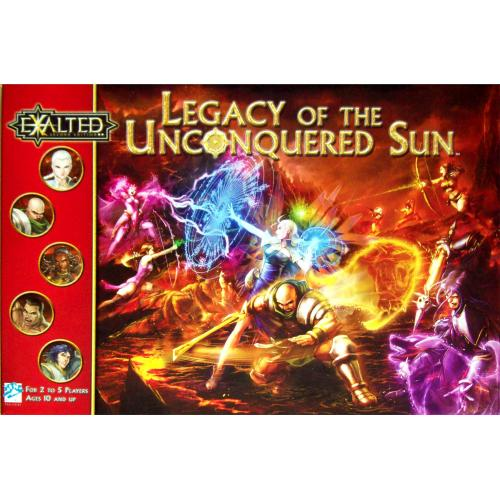 Exalted Legacy of the Unconquered Sun BG