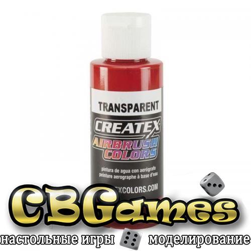 Краска для аэрографии Createx Colors - Transparent 5137 - Transparent Crimson, 60 мл
