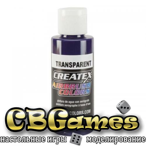 Краска для аэрографии Createx Colors - Transparent 5135 - Transparent Purple, 60 мл
