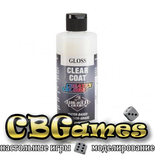Глянцевый прозрачный лак для красок Createx Clear Coat Gloss 5620, 120 мл