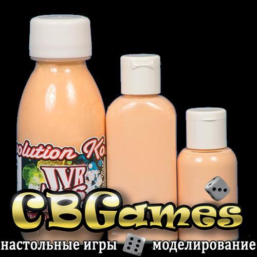 JVR Revolution Kolor, opaque flesh tint #107,30ml
