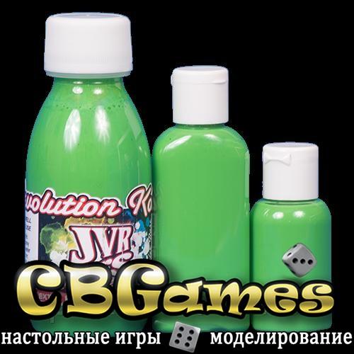 JVR Revolution Kolor, opaque light green,30ml