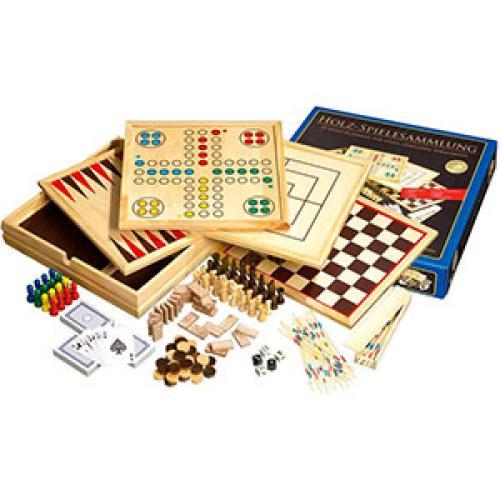 Игры из дерева 10 шт. 35,1х35,1х6,2см (Philos 9960) Германия
