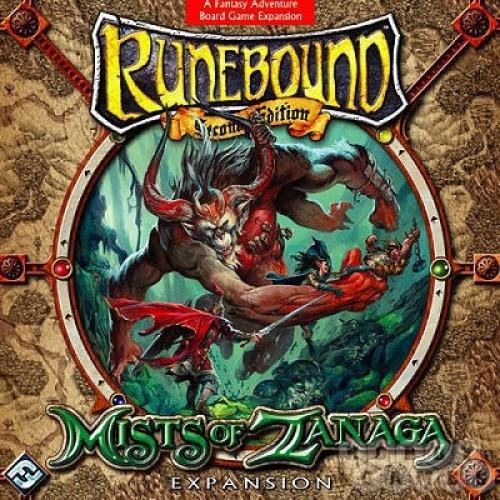 Runebound: Mists of Zanaga Expansion (Дополнение)