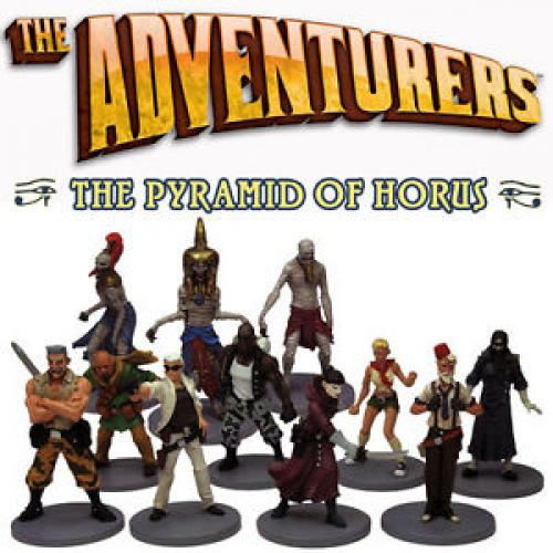 Adventurers: Pyramid of Horus - Miniatures