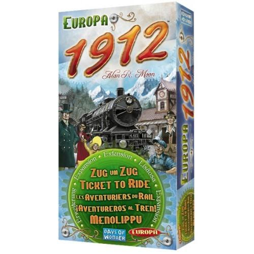 Билет на поезд Европа 1912 (Ticket to Ride Europa 1912 Expansion)