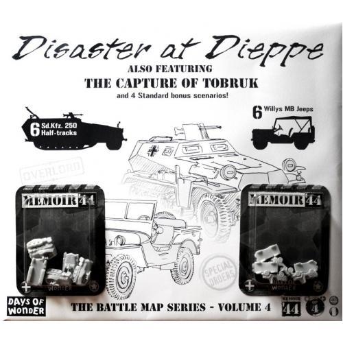 Memoir'44 - OP4 Battle Map - Disaster at Dieppe/The Capture of Tobruk
