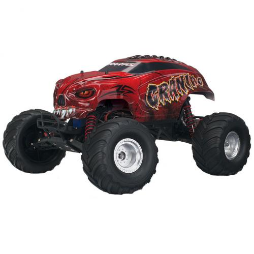 Автомобиль Traxxas Craniac Monster 1:10 RTR 413 мм 2WD 2,4 ГГц (36094-1 Red)