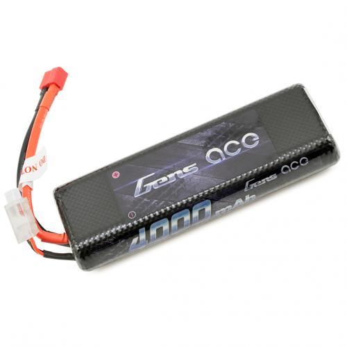 Аккумулятор Gens Ace LiPO 7,4 В 4000 мАч 2S 25C (B-25C-4000-2S1P-HardCase-8)