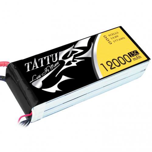 Аккумулятор Tattu LiPO 14,8 В 12000 мАч 4S 15C (TA-15C-12000-4S1P)