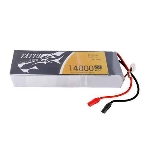 Аккумулятор Tattu LiPO 22,2 В 14000 мАч 6S 25C (TA-25C-14000-6S1P)