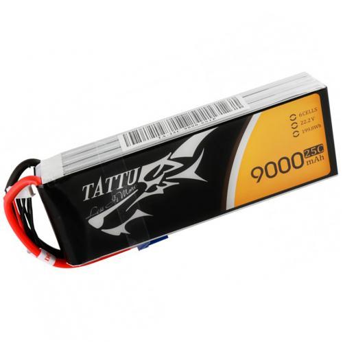 Аккумулятор Tattu LiPO 22,2 В 9000 мАч 26S 5C (TA-25C-9000-6S1P)