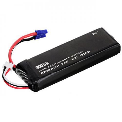 Аккумулятор Hubsan LiPO 7,4 В 2700 мАч 2S 10С (H501S-14)