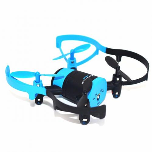 Квадрокоптер JXD 512W 90мм WiFi камера синий