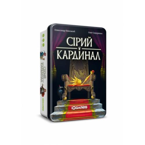 Карточная игра IGAMES Серый кардинал укр. (2394)