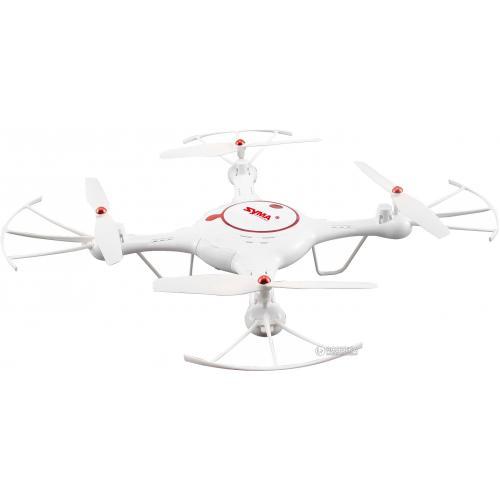 Квадрокоптер Syma X5UC 320мм HD 720P камера белый CBGames