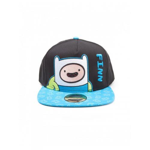 Официальный снепбек Adventure Time - Finn Snapback with Printed Bill