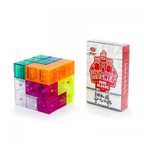 YJ Magnetic Blocks | Магнитная головоломка (Кубики Сома)