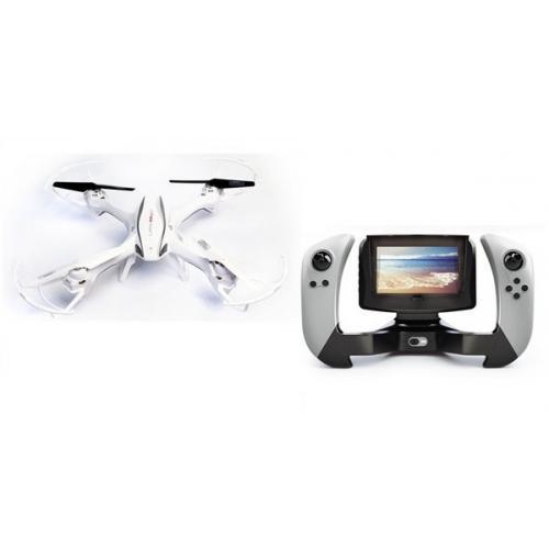 Квадрокоптер UDIRC U842-1 2,4 GHz LarkFPV 370мм бортовая камера  4.3 Inch LCD RC 4CH CBGames