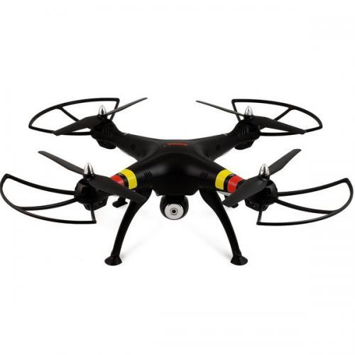 Квадрокоптер Syma FPV 50см 2.4Ghz 4CH, WiFi камера 2МП, RTF черный CBGames