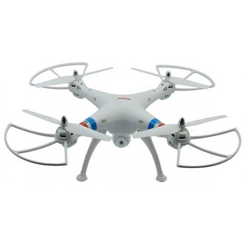 Квадрокоптер Syma FPV 50см 2.4Ghz 4CH, WiFi камера 2МП, RTF белый CBGames