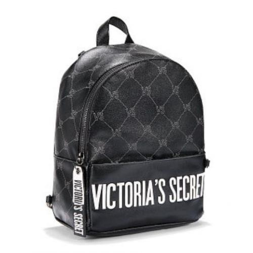 Рюкзак женский Victoria s Secret (Виктория Сикрет) черный VS55