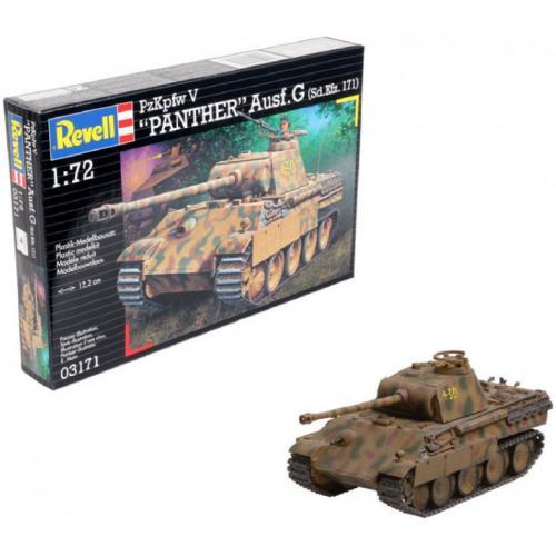 Сборная модель-копия Revell Танк Пантера уровень 4 масштаб 1:72