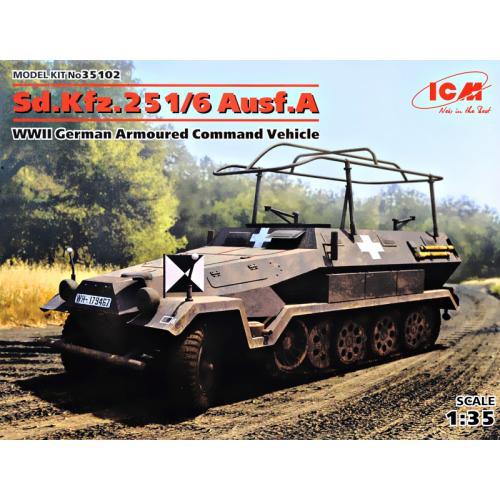 Немецкий бронетранспортер Sd.Kfz.251/6 Ausf.A (ICM 35102)