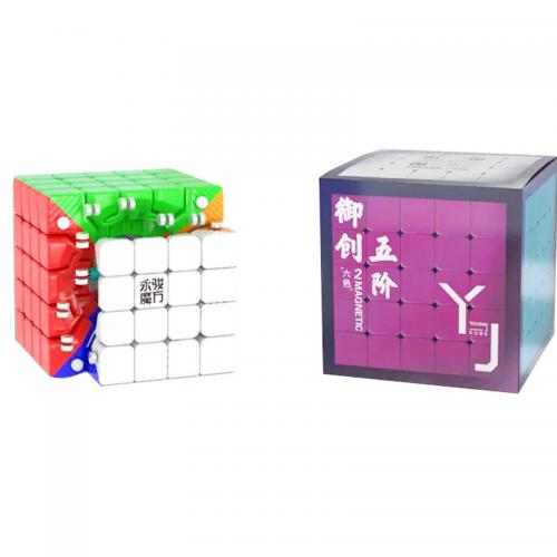 YJ 5x5 Yuchuang V2 M stickerless | Кубик 5x5 без наклеек магнитный